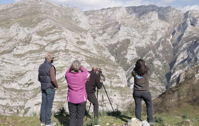 Jornada al aire libre en los Picos de Europa.