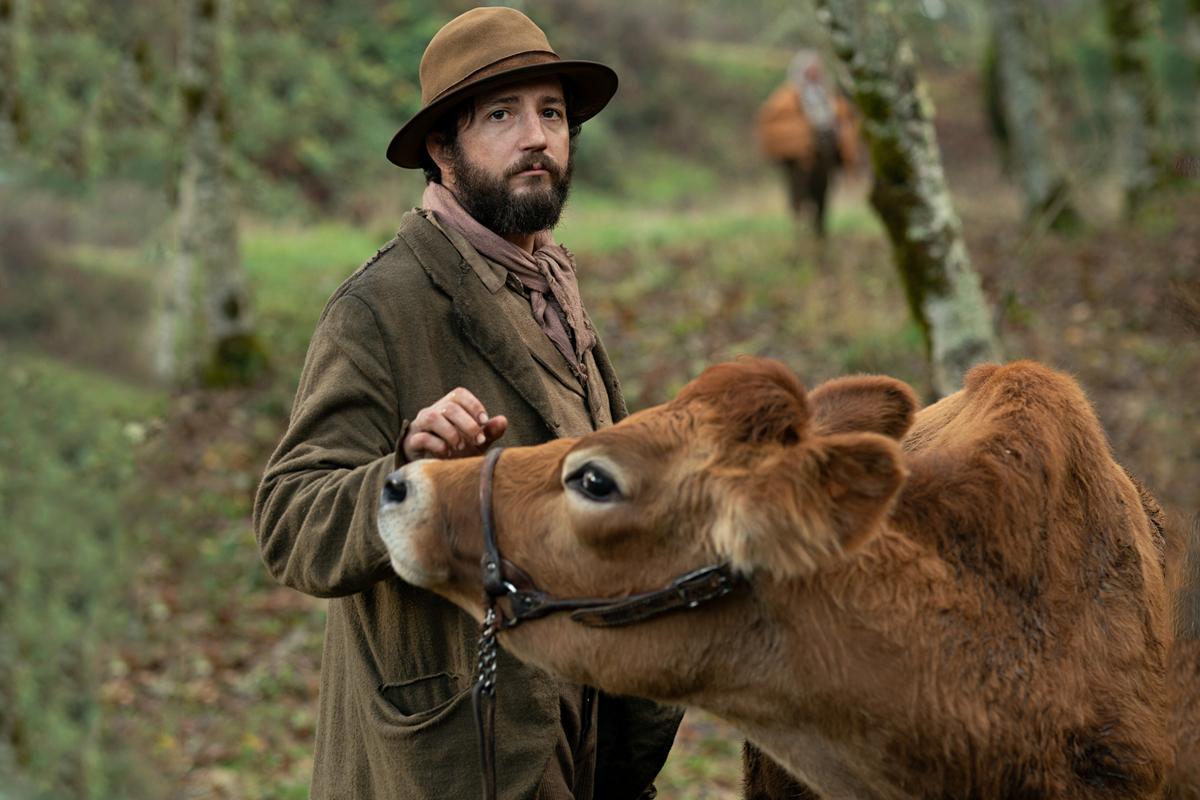 John Magaro en una imagen de 'First cow'.