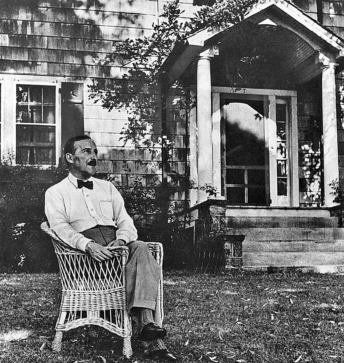 Stefan Zweig en Nueva York, en 1941.