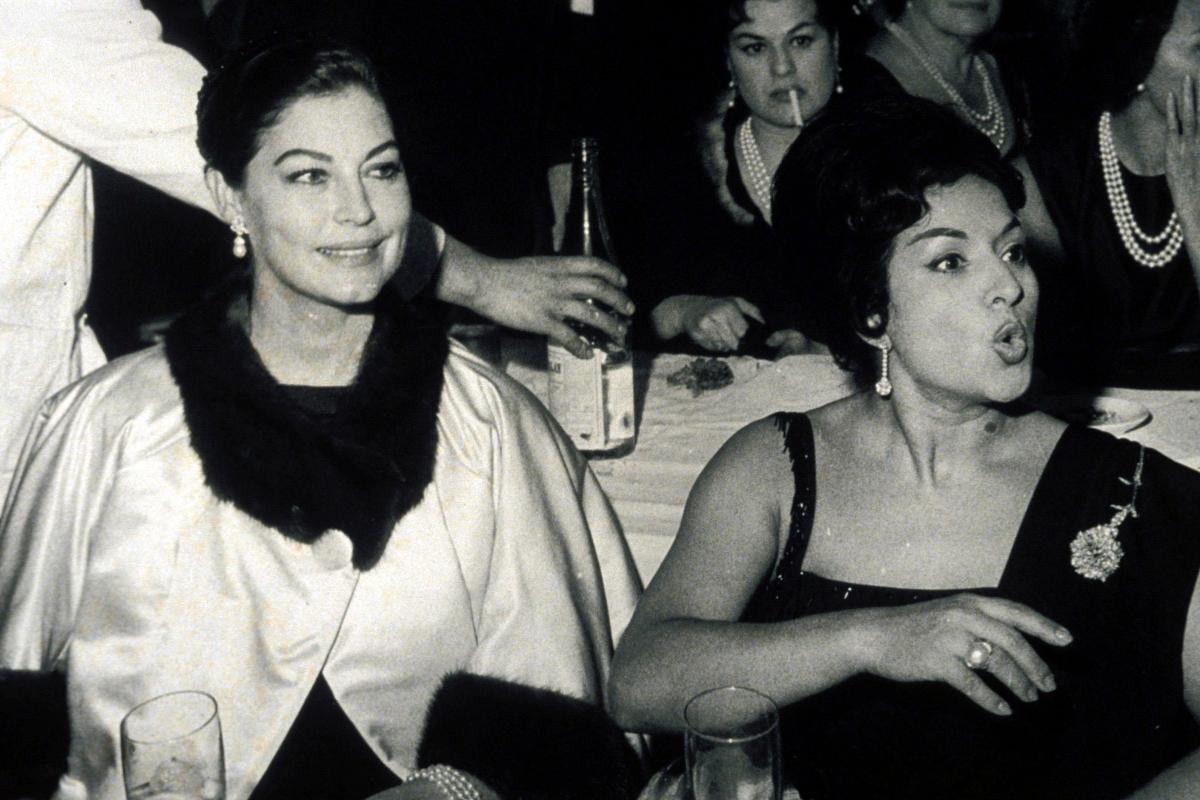 Ava Gardner con Lola Flores en Madrid en la década de los 50