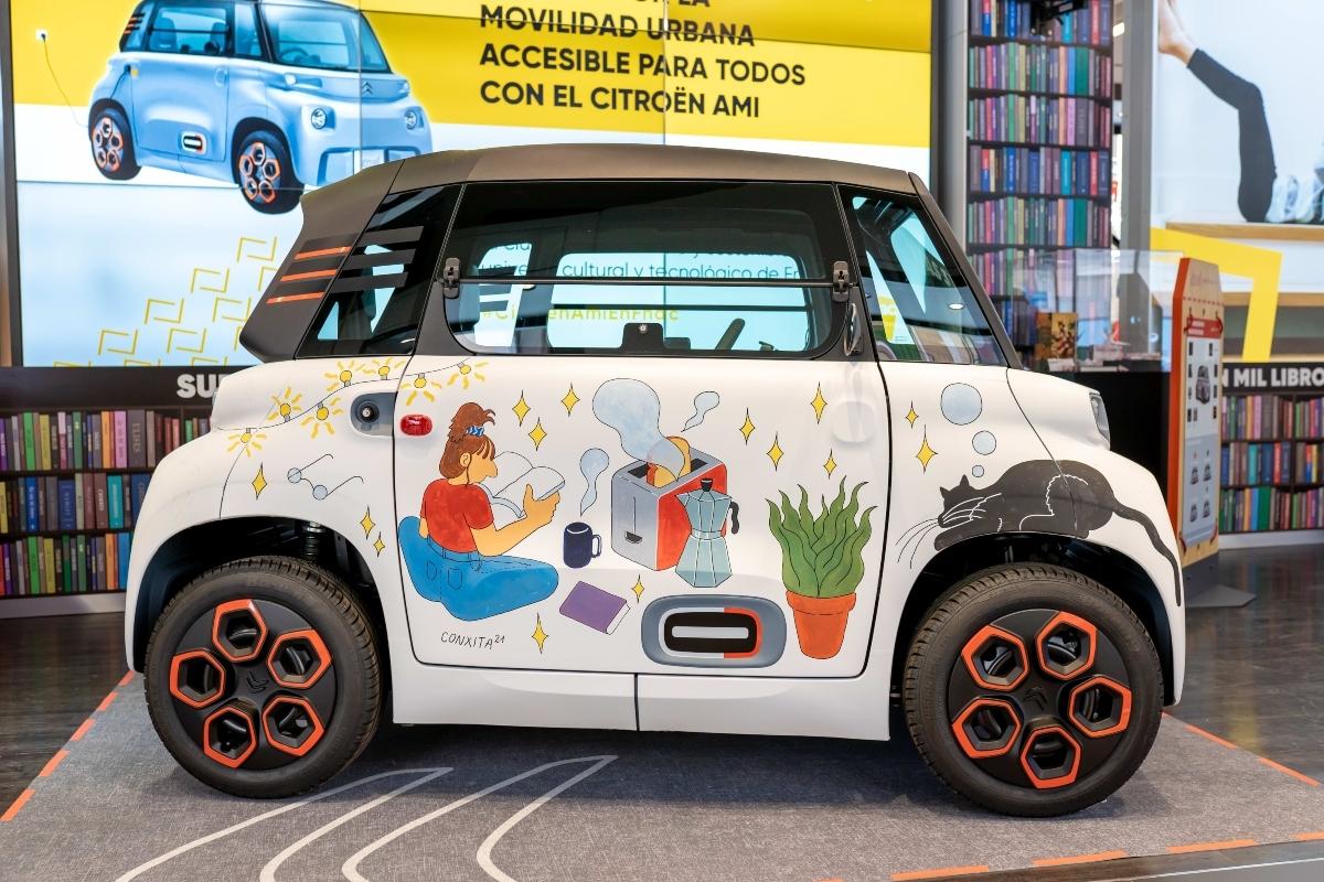 Fnac colabora con Citroën en la venta del nuevo Ami, el cuadriciclo 100% eléctrico
