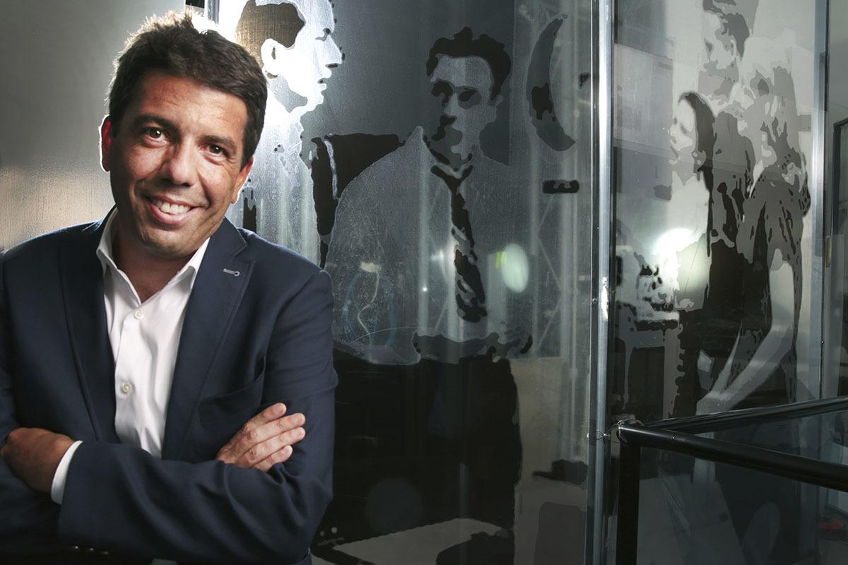 Carlos Mazón, candidato de Génova para presidir el PP de la Comunidad Valenciana.