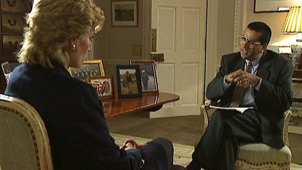 Martin Bashir entrevista a Lady Di para la BBC en 1995.