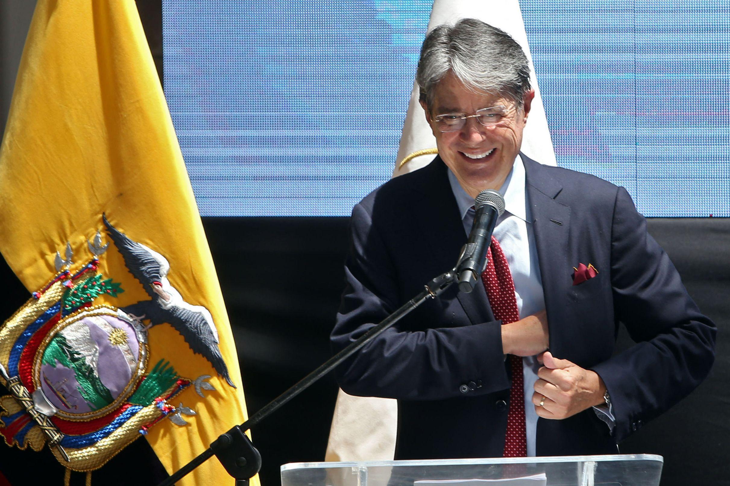 El presidente electo Guillermo Lasso.