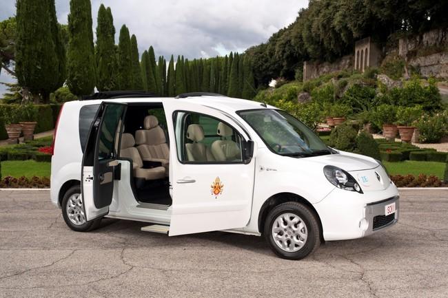 Este es el Renault Kangoo eléctrico de 2012