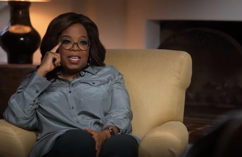 Oprah Winfrey, en  la serie The me you can't see.