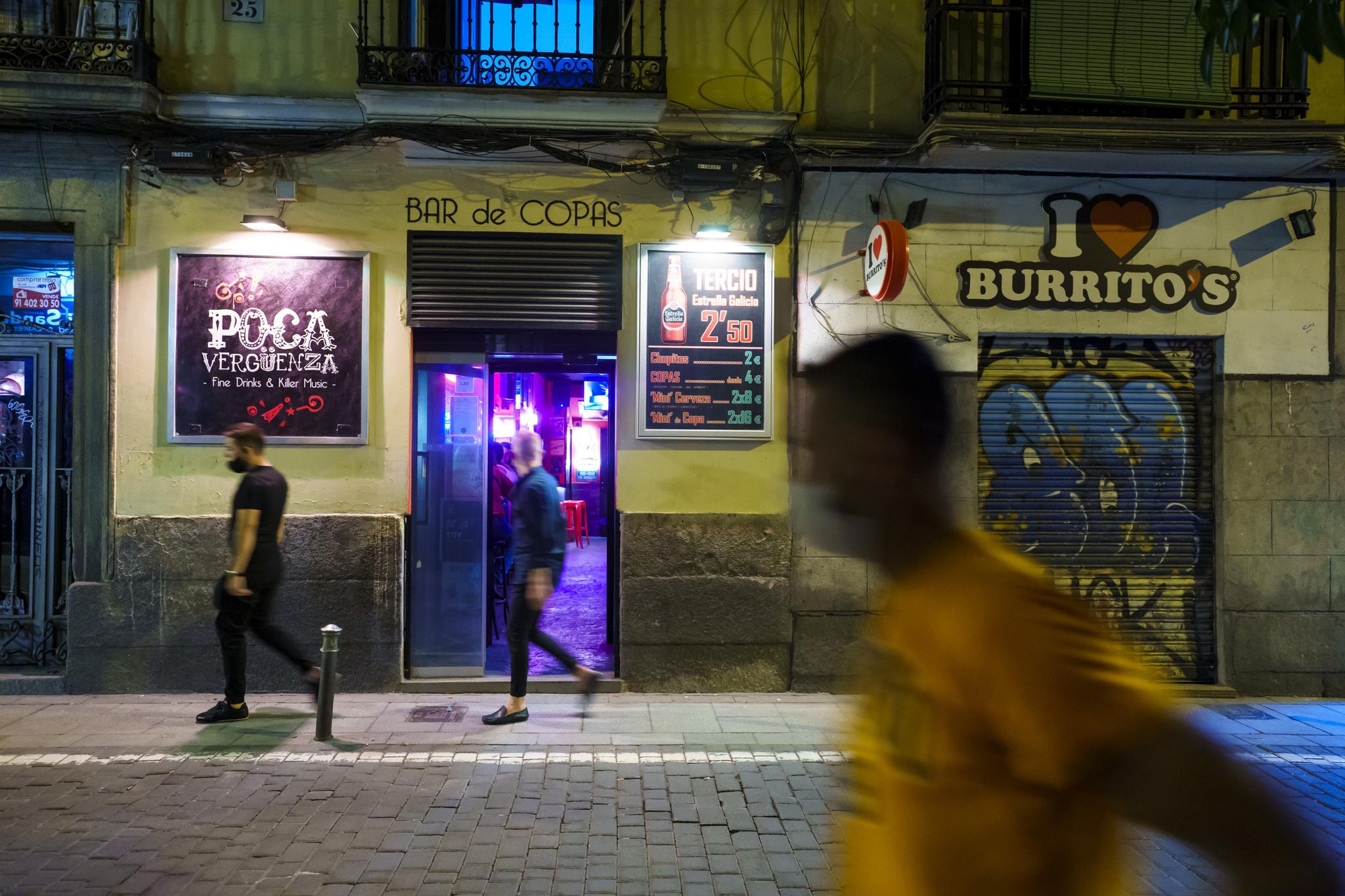 Bar de Malasaña.