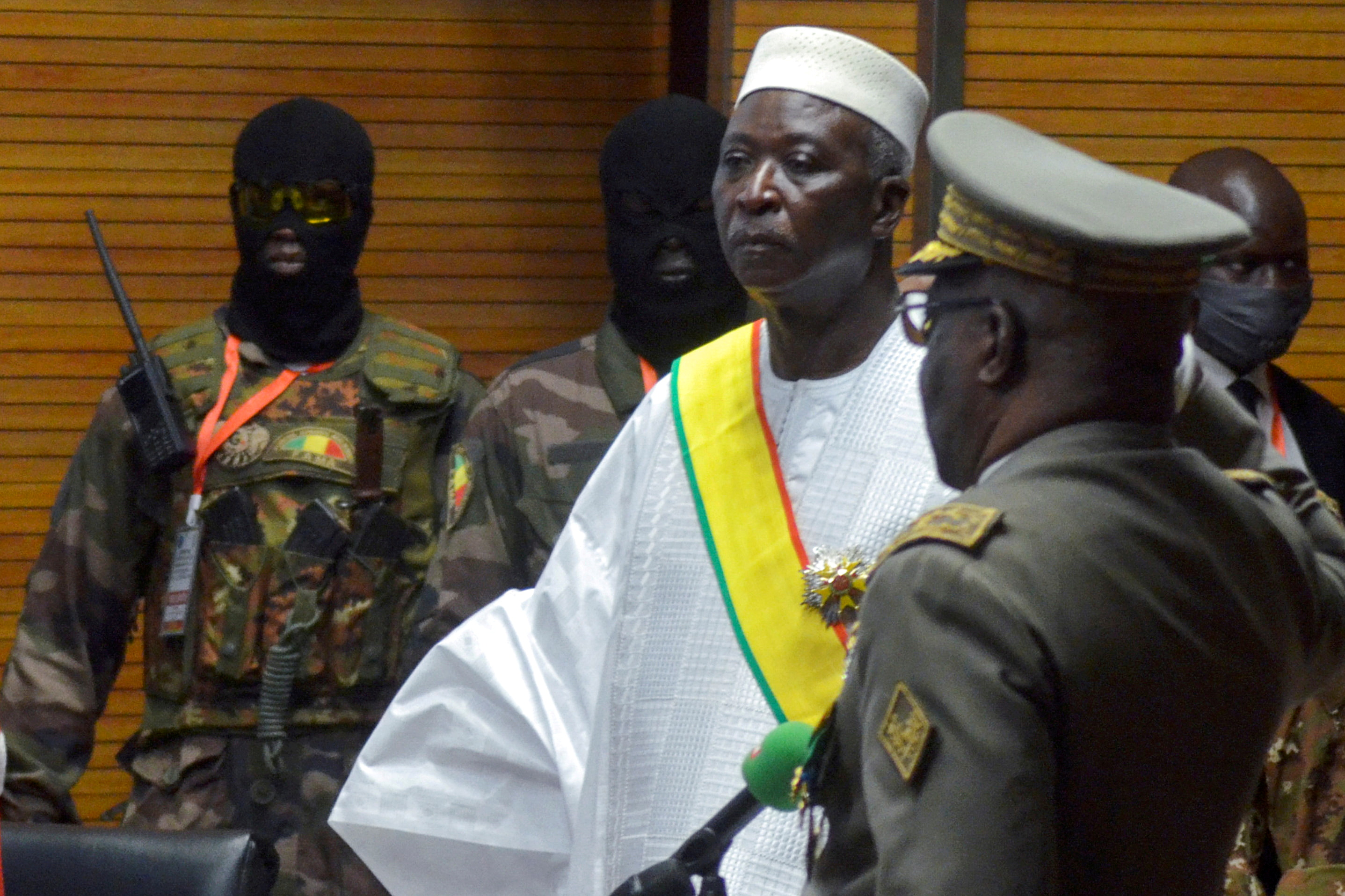 El presidente interino de Mali, Bah Ndaw, el año pasado.