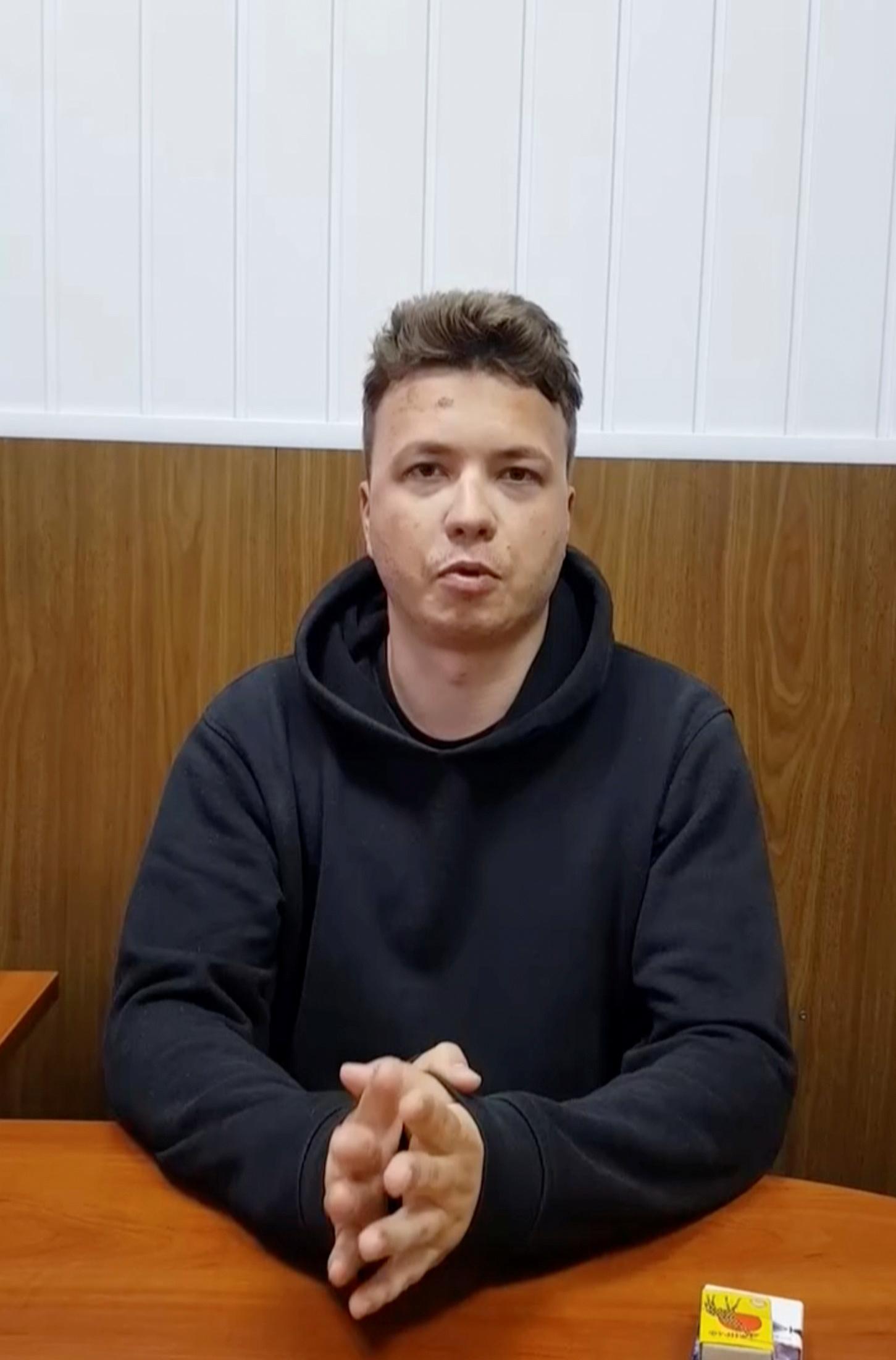 El bloguero bielorruso Roman Protasevich