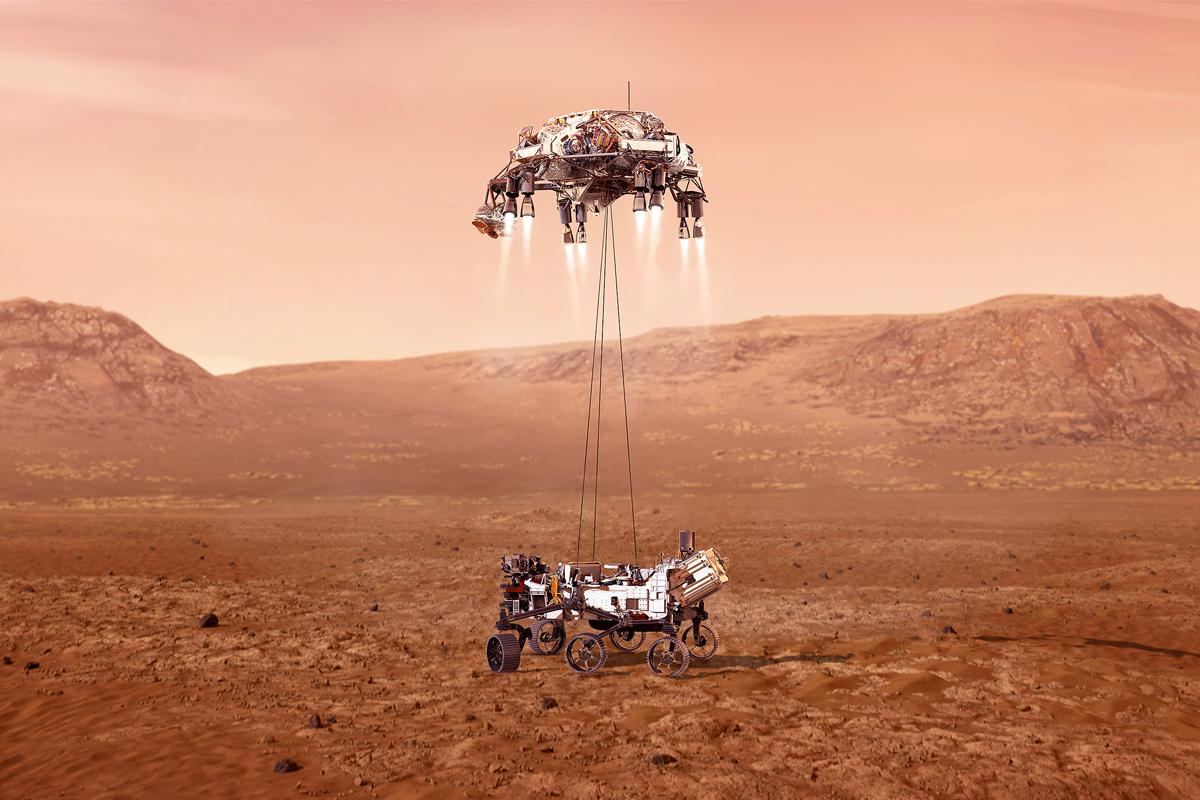 Entre Marte y el cruasán