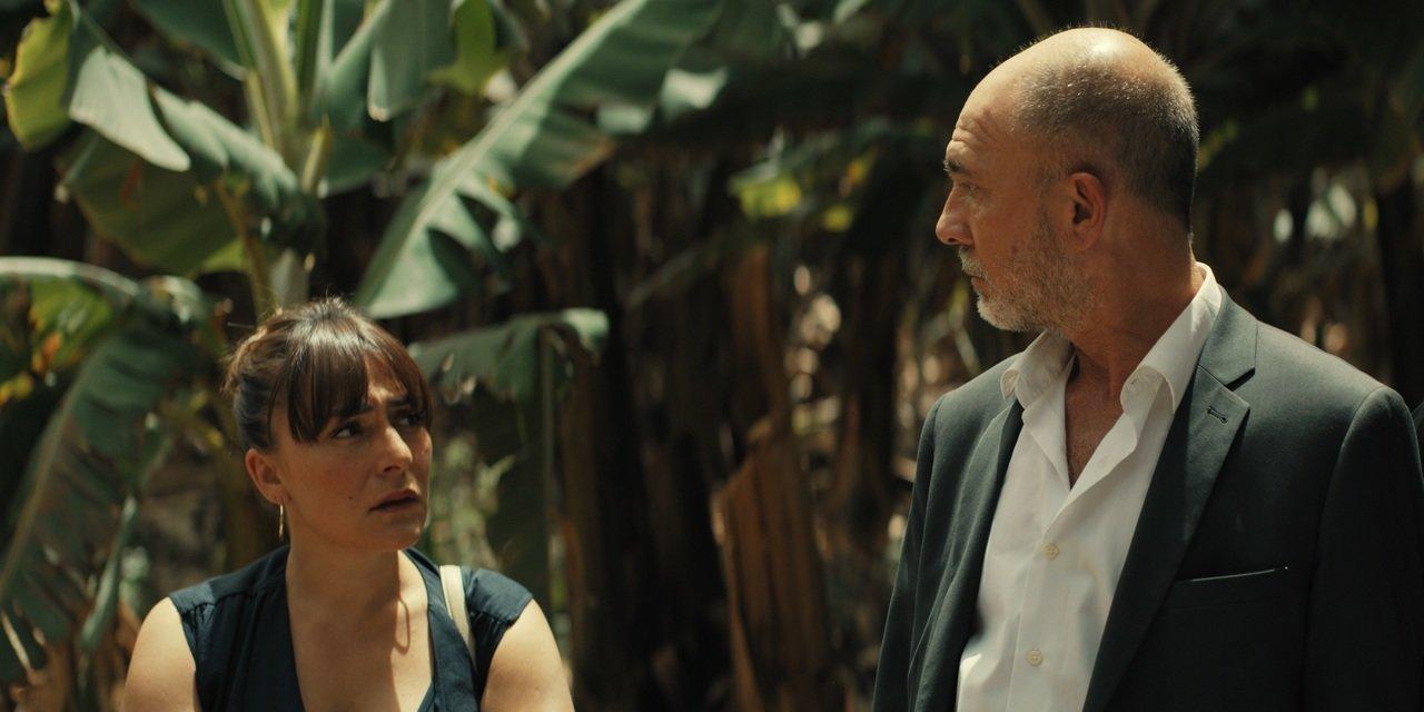 Candela Peña y Darío Grandinetti en 'Hierro'.