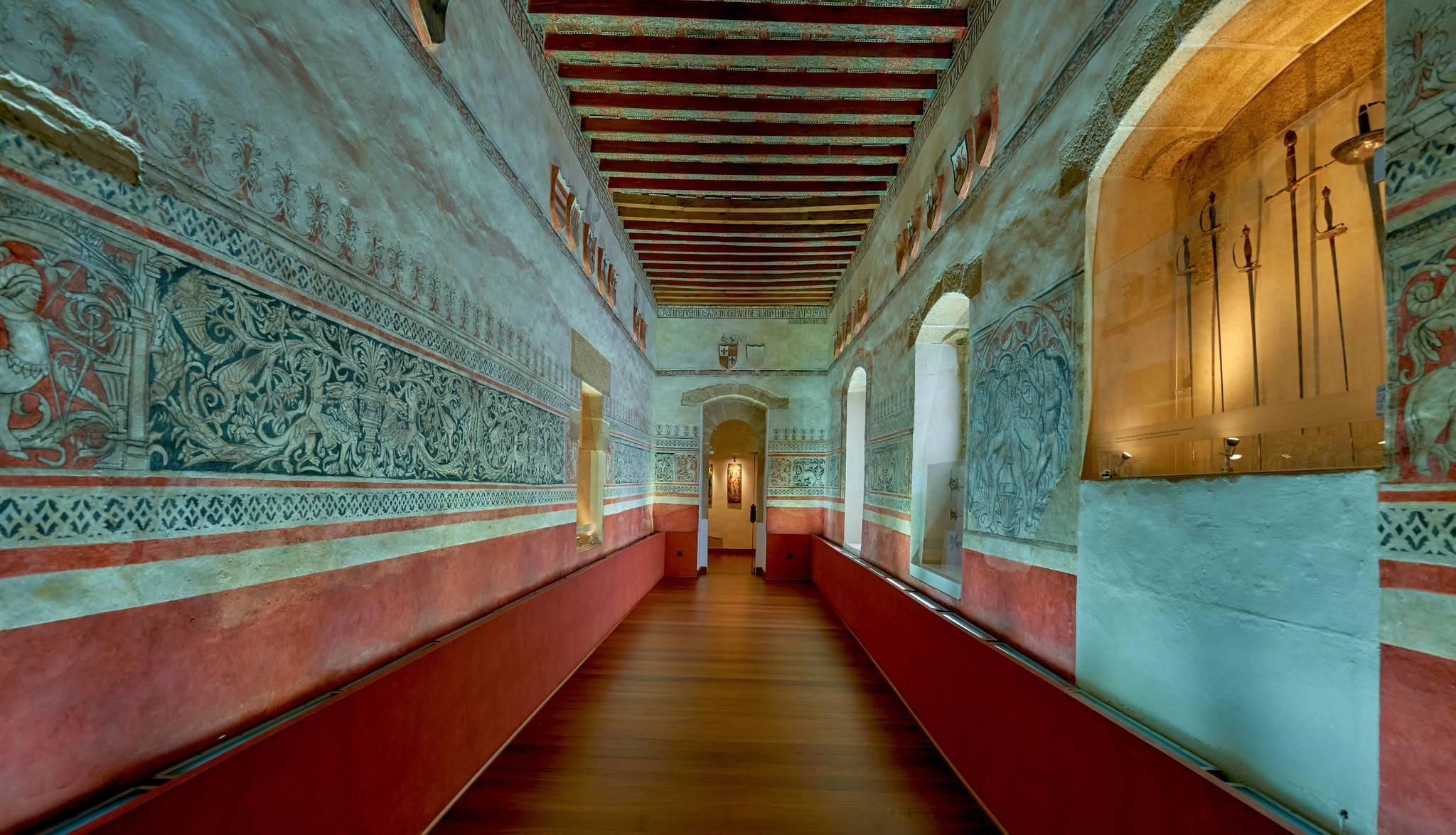Sala de Armas del Palacio de los Golfines.