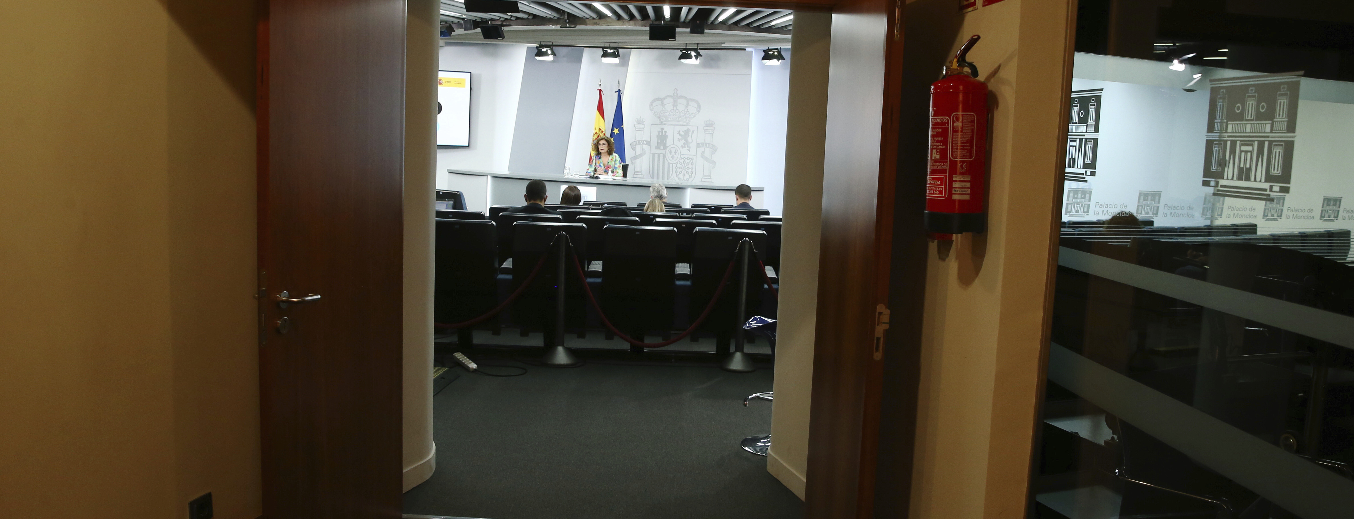 Maria Jesús Montero comparece tras el Consejo de Ministros.