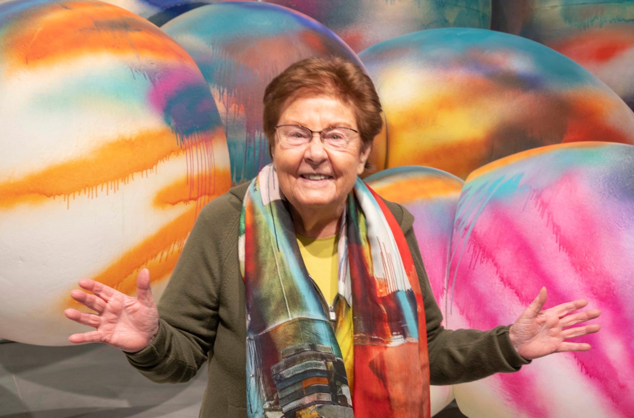 La coleccionista alemana Helga de Alvear.