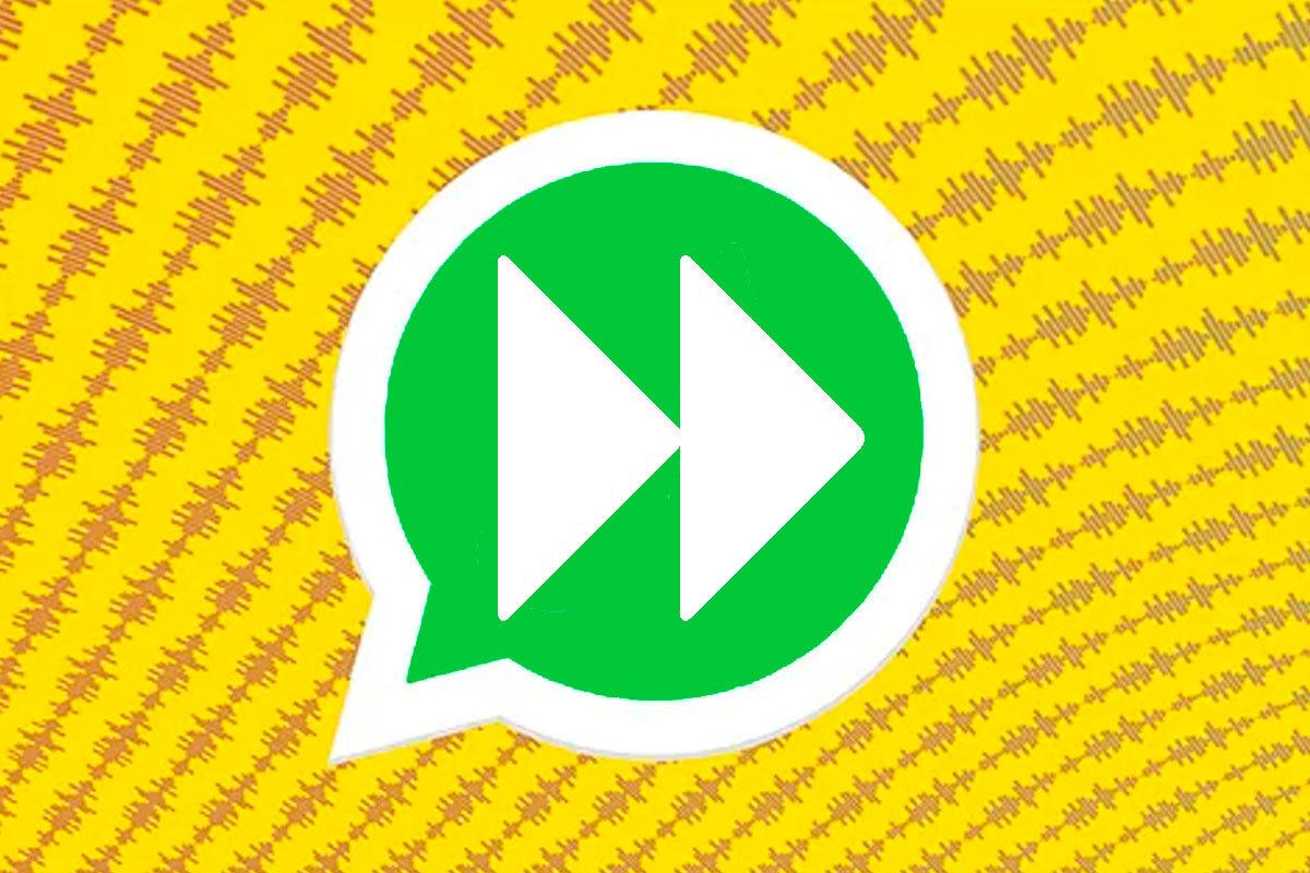 Aprende a aumentar la velocidad de reproducción de los audios de WhatsApp.