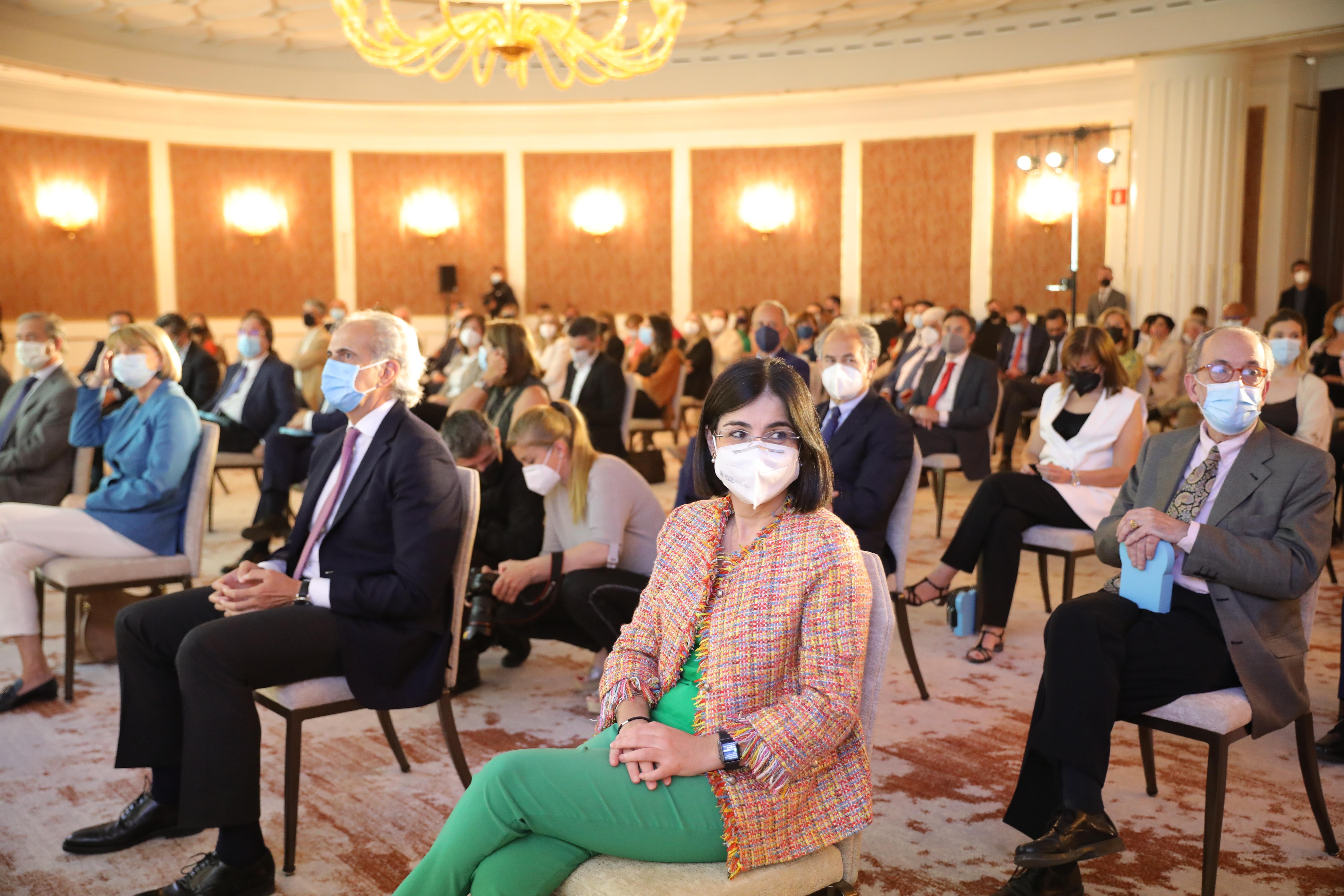 Ceremonia de entrega de los premios Admirables 2021 en el XXIX aniversario de Diario Médico.