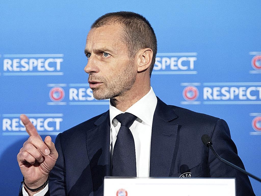 Ceferin, presidente de UEFA.