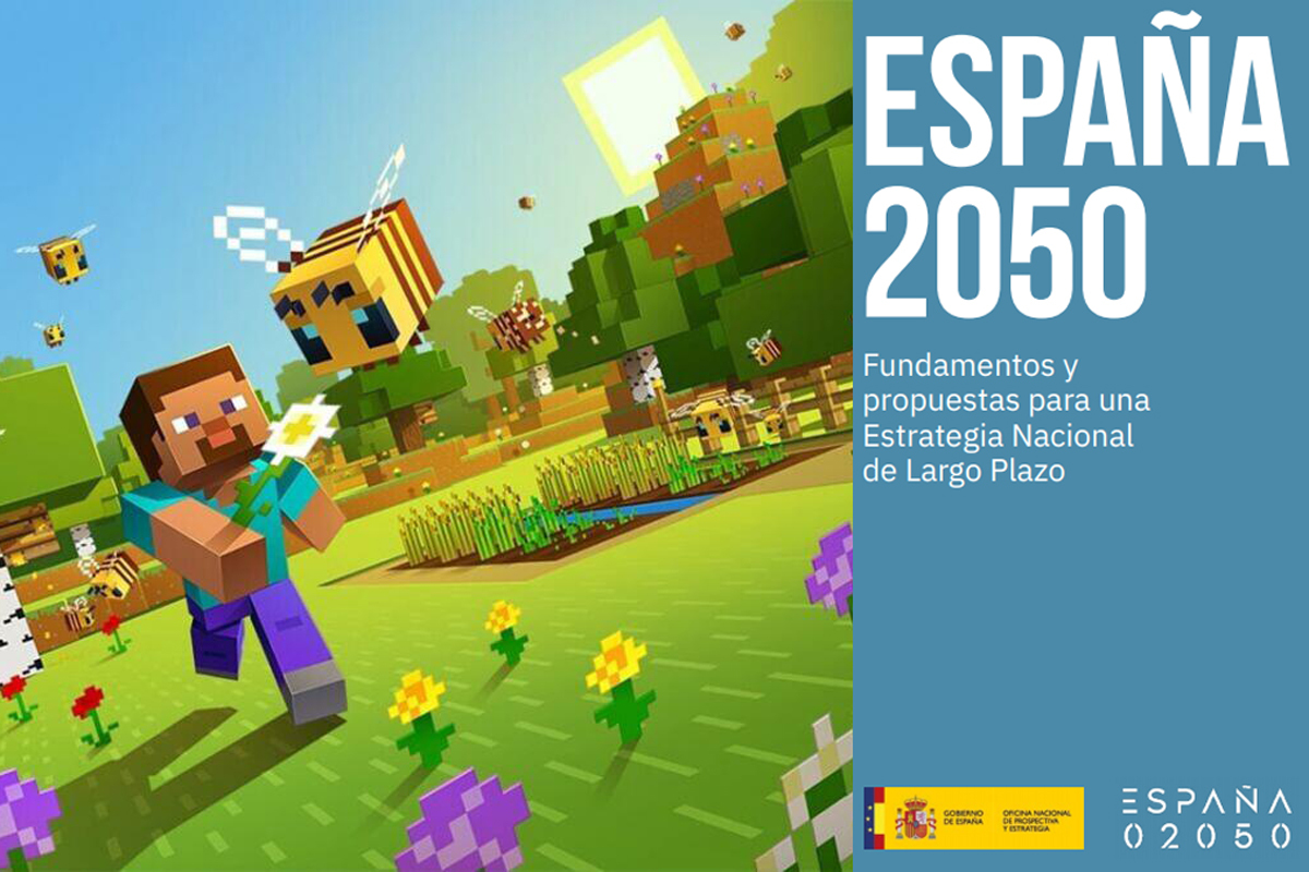 El Gobierno señala la jardinería en el videojuego Mincraft como posible nicho en el que se crearán nuevos empleos.