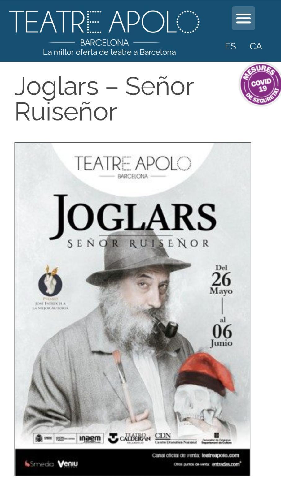 Señores, señoras, ¡al Ruiseñor!
