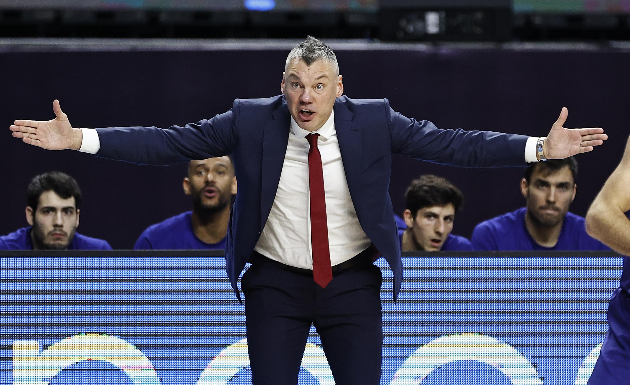 Sarunas Jasikevicius, entrenador del Barcelona.