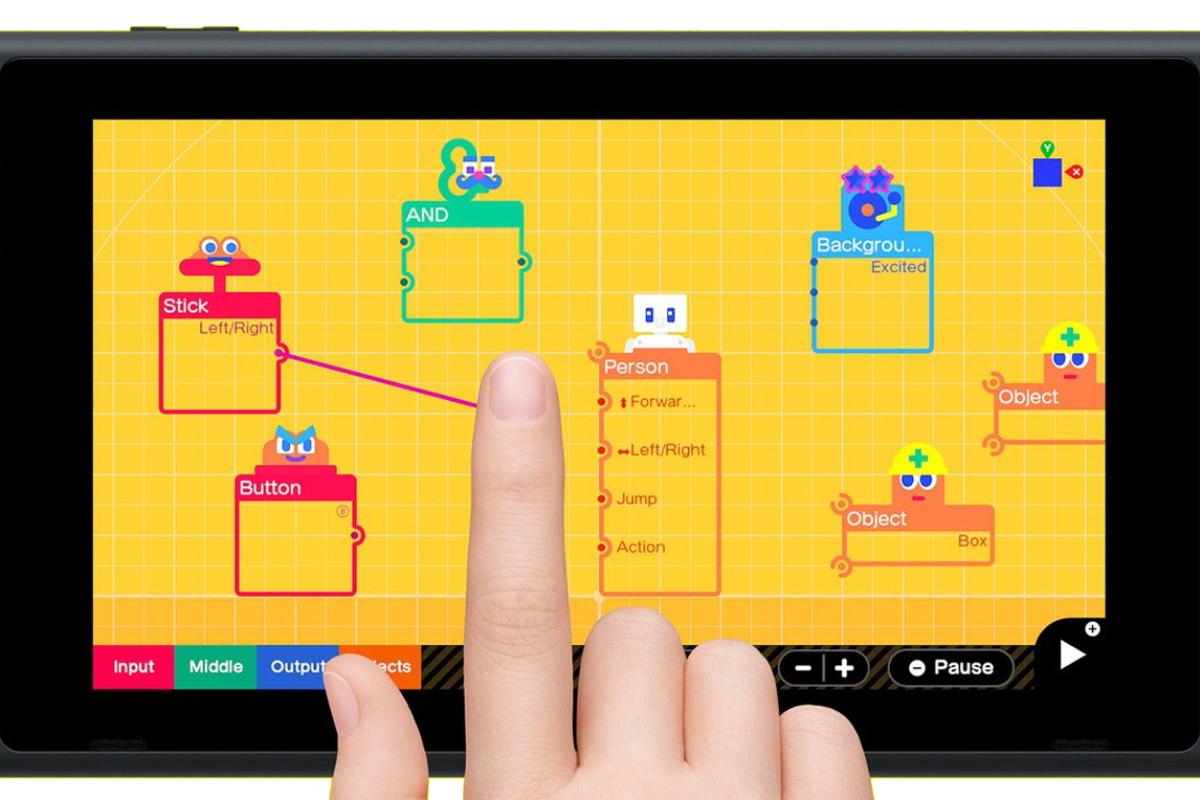 Game Builder Garage: ahora Nintendo quiere que hagas tú los videojuegos