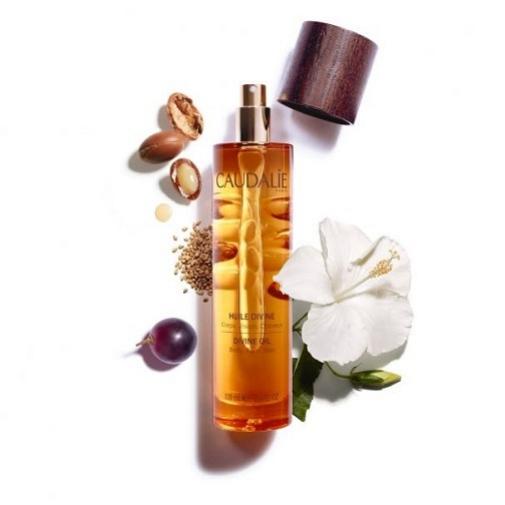 Aceites corporales para la hidratación de pieles secas: Caudalie.