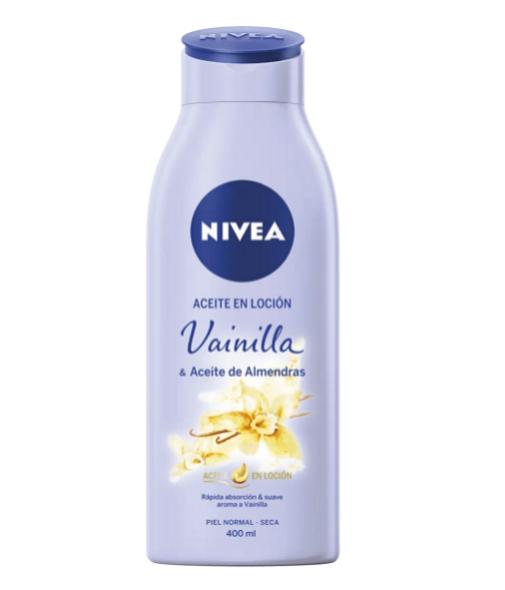 Aceites corporales para la hidratación de pieles secas: Nivea.