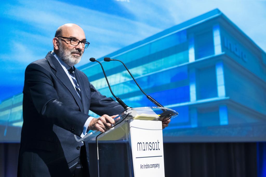 El ya ex presidente de Indra, Fernando Abril-Martorell.