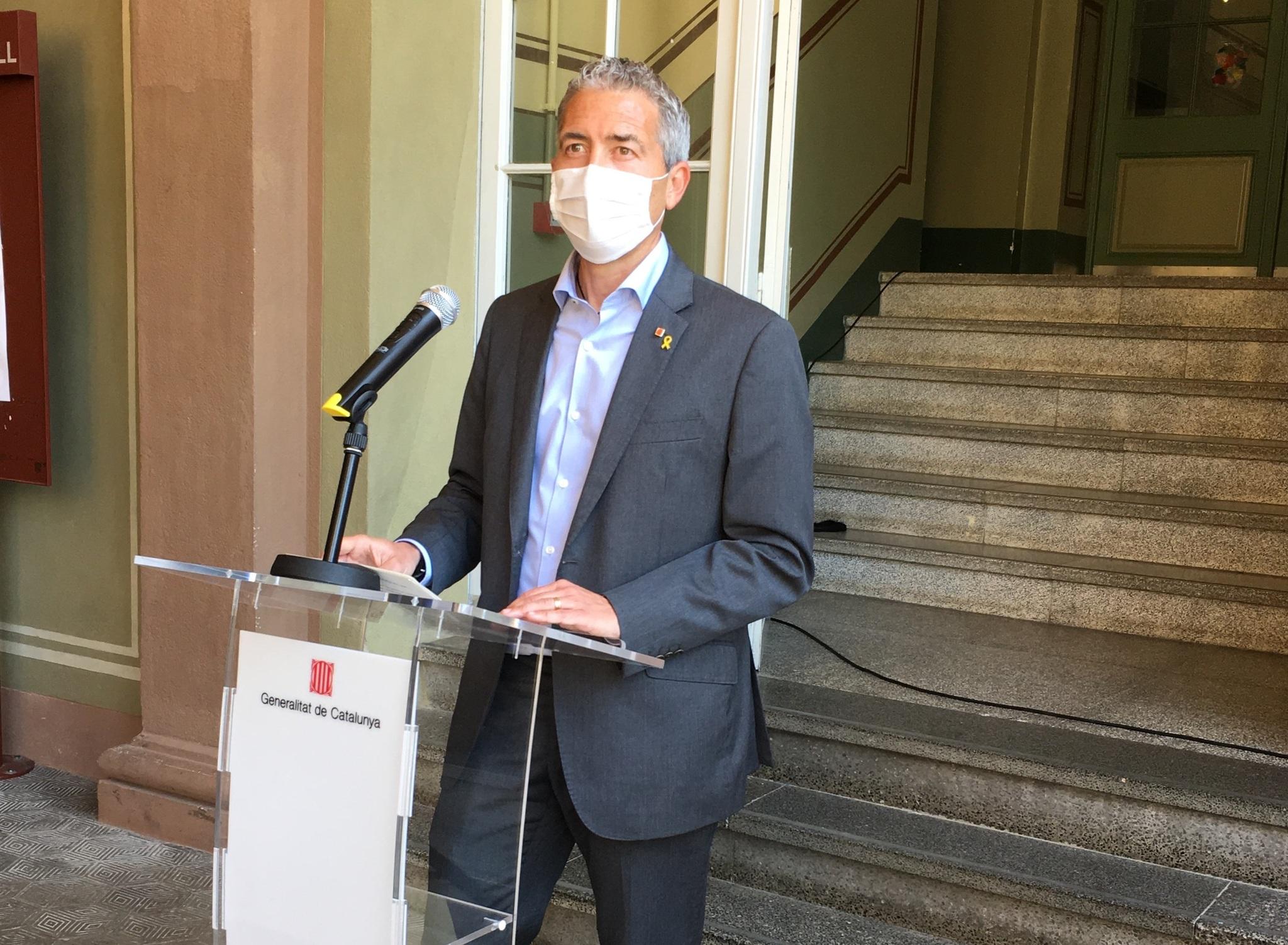 El consejero Josep Gonzàlez-Cambray.