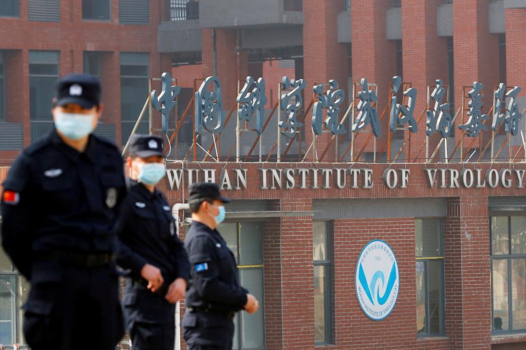 Edificio del Instituto de virología de Wuhan.