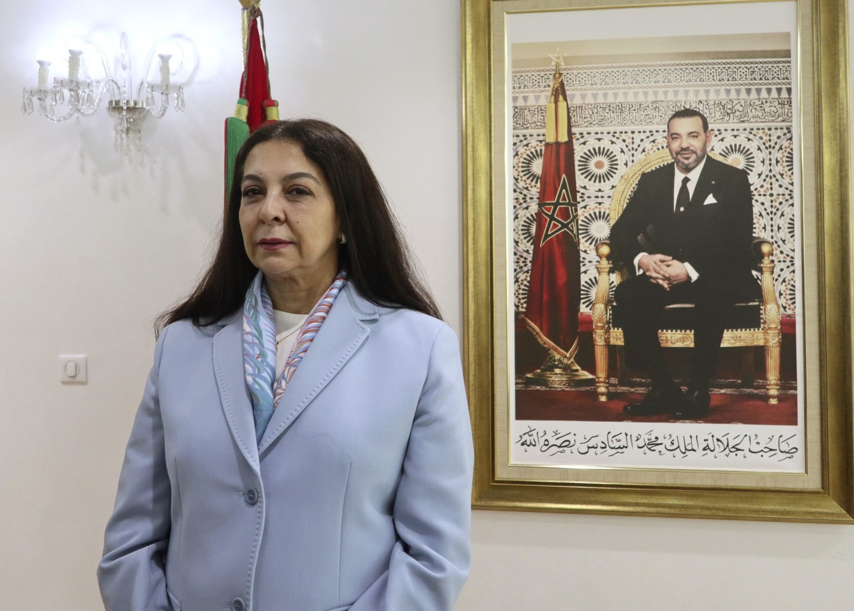 La embajadora marroquí en España, Karima Benyaich.