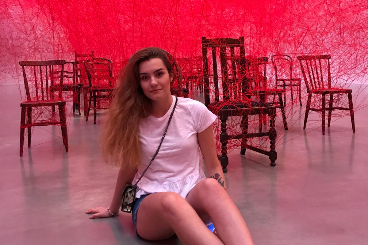 Sofia Sapega, en Gotenburgo, en una imagen de 2019.