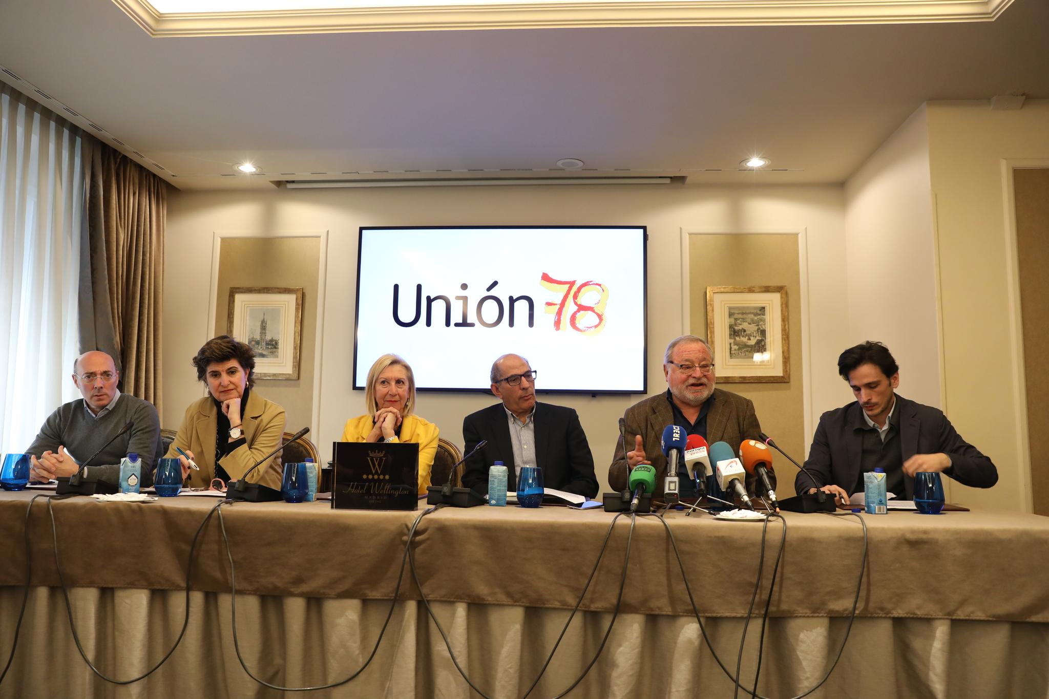 Rosa Díez, Fernando Savater y María San Gil, entre los impulsores de la plataforma Unión 78.