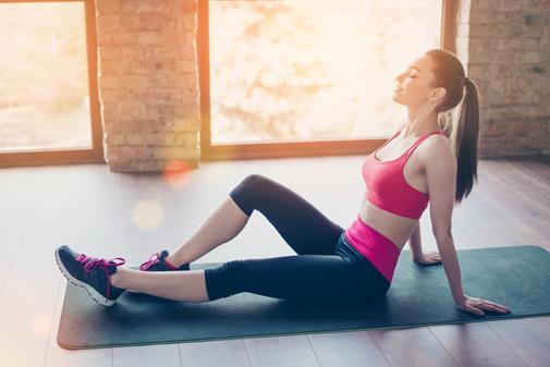Slow fit ejercicio relajado para ponerse en forma y adelgazar sin sudar