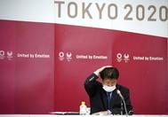 Evento de Tokio 2020, ayer.