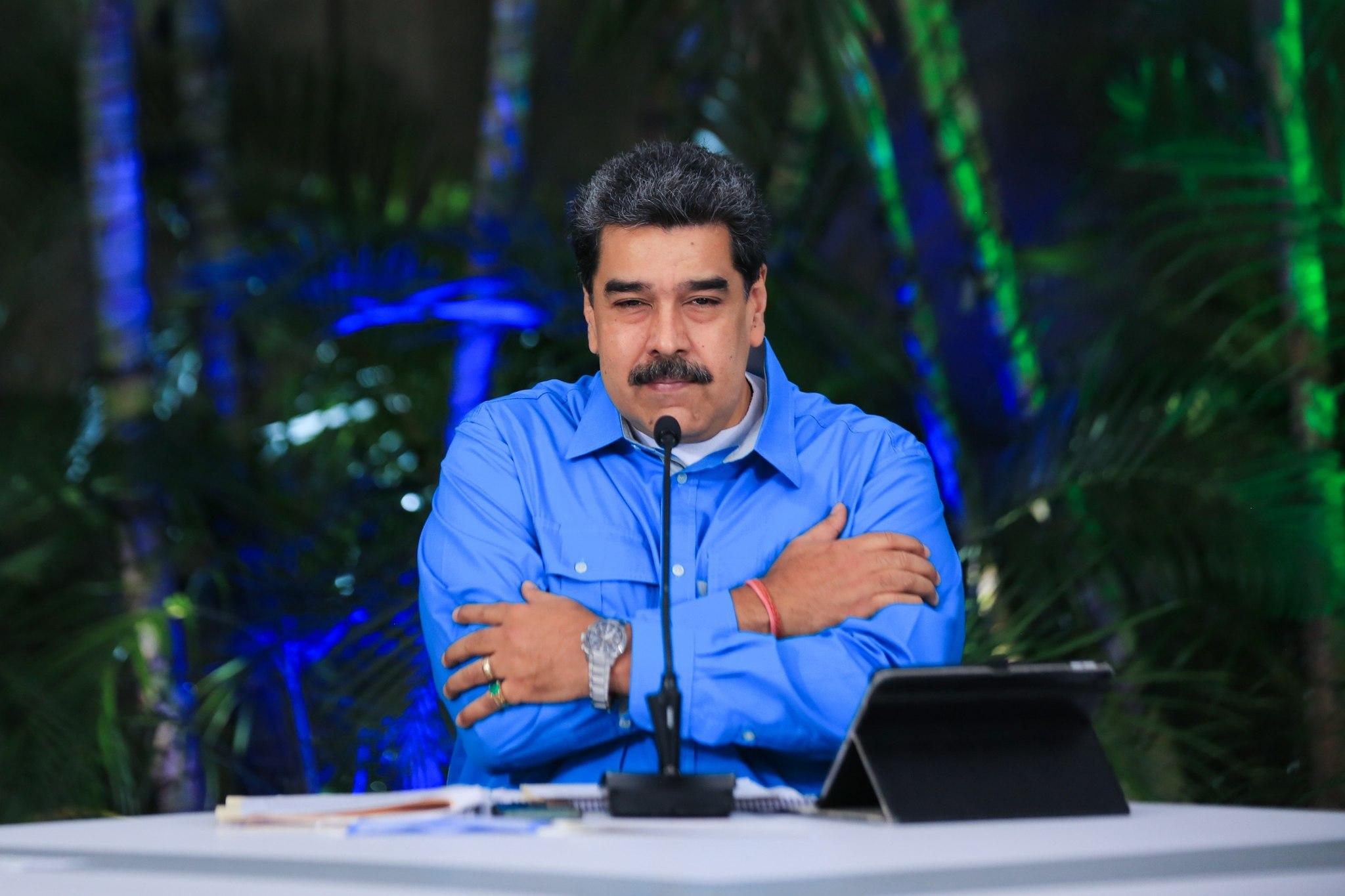 Nicolás Maduro, presidente de Venezuela, en una imagen reciente.