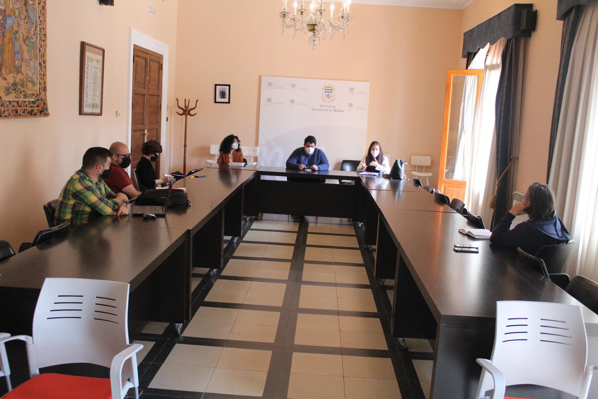Reunión de portavoces en Nules.