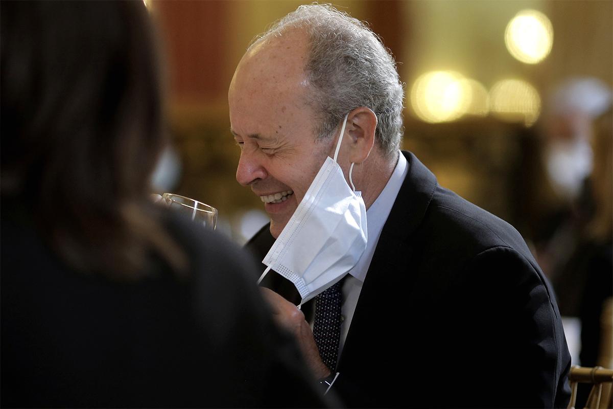 Juan Carlos Campo, en un acto reciente en Madrid.