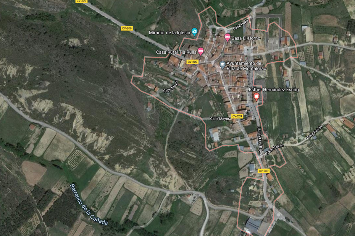 El senderista se encontraba haciendo una ruta por Pina de Montagrao