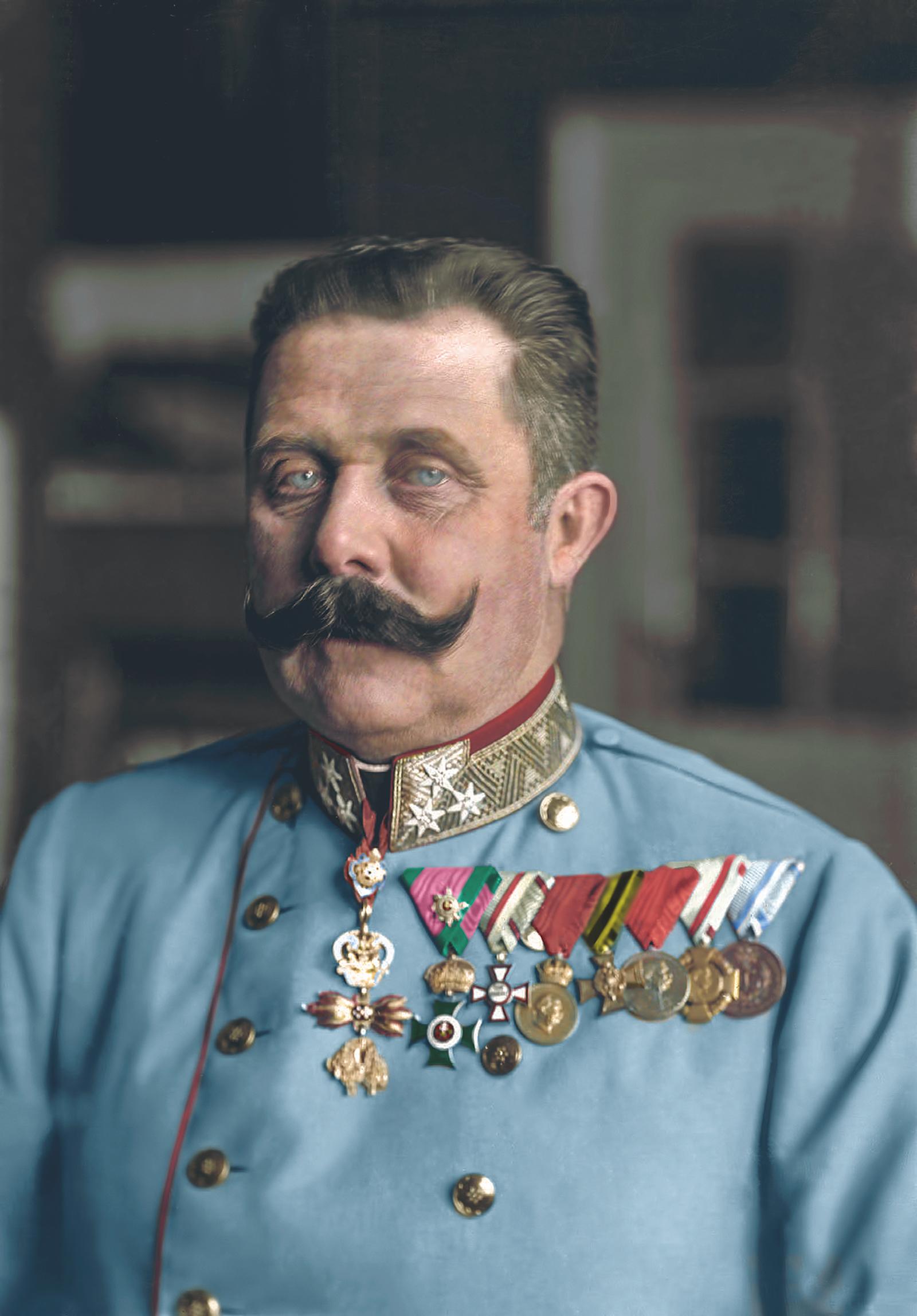 Francisco Fernando, emperador de Austria.