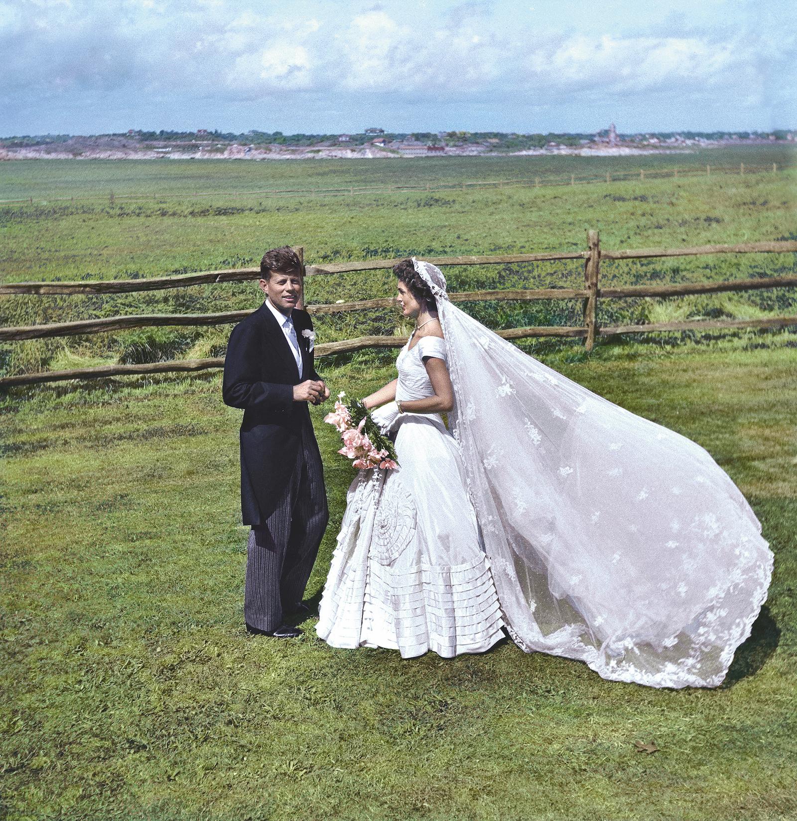La boda de John y Jacqueline Kennedy.
