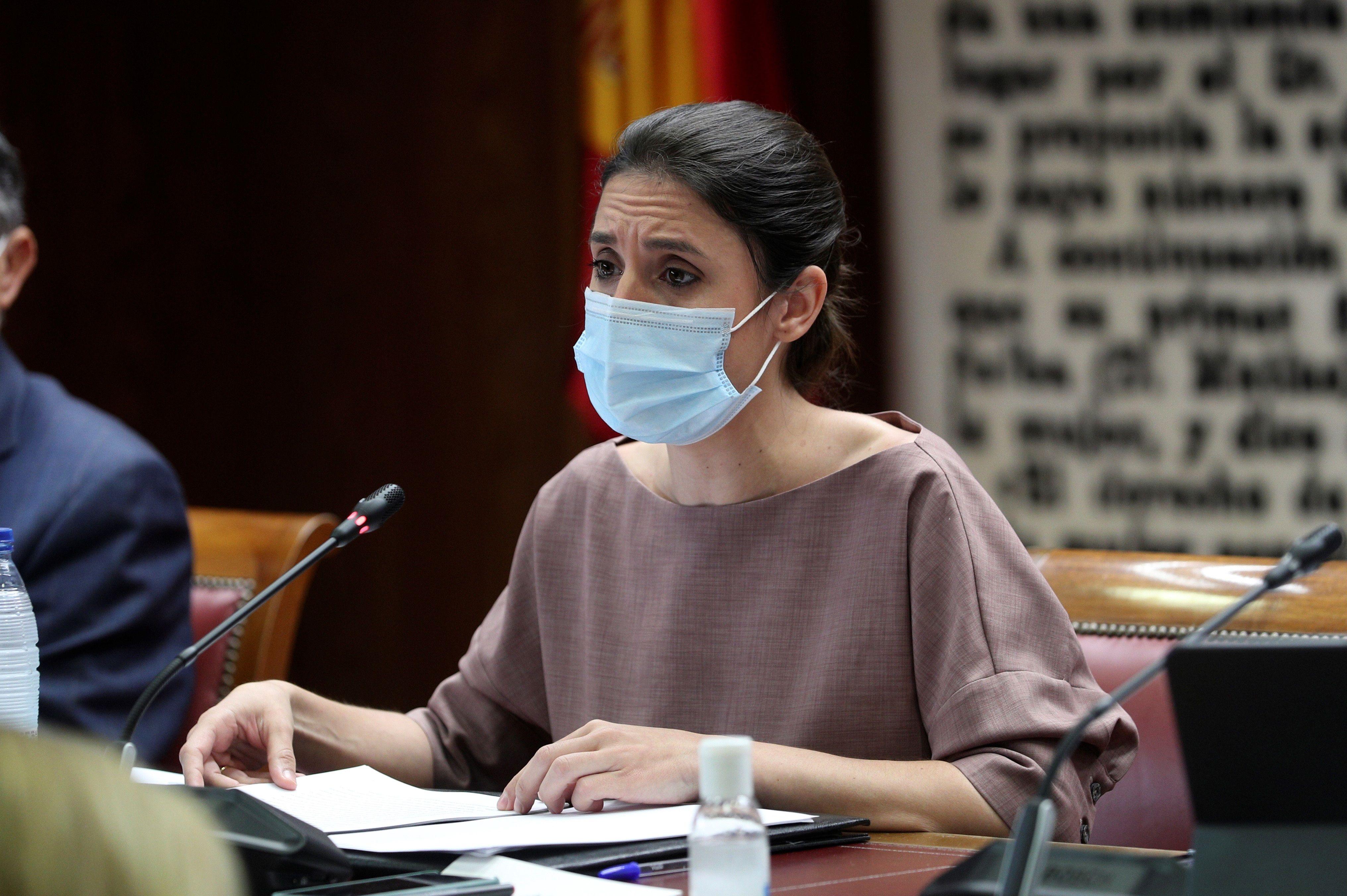 La ministra de Igualdad, Irene Montero, en una imagen reciente.