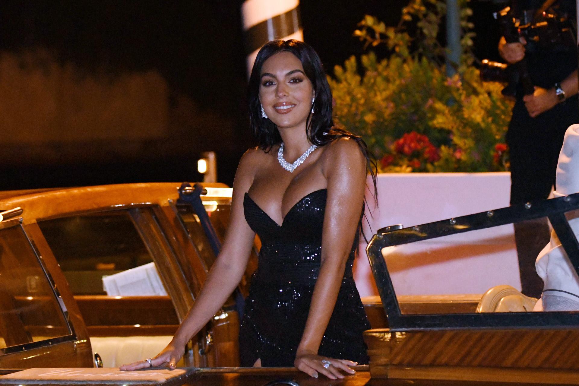 Georgina en el festival de Venecia