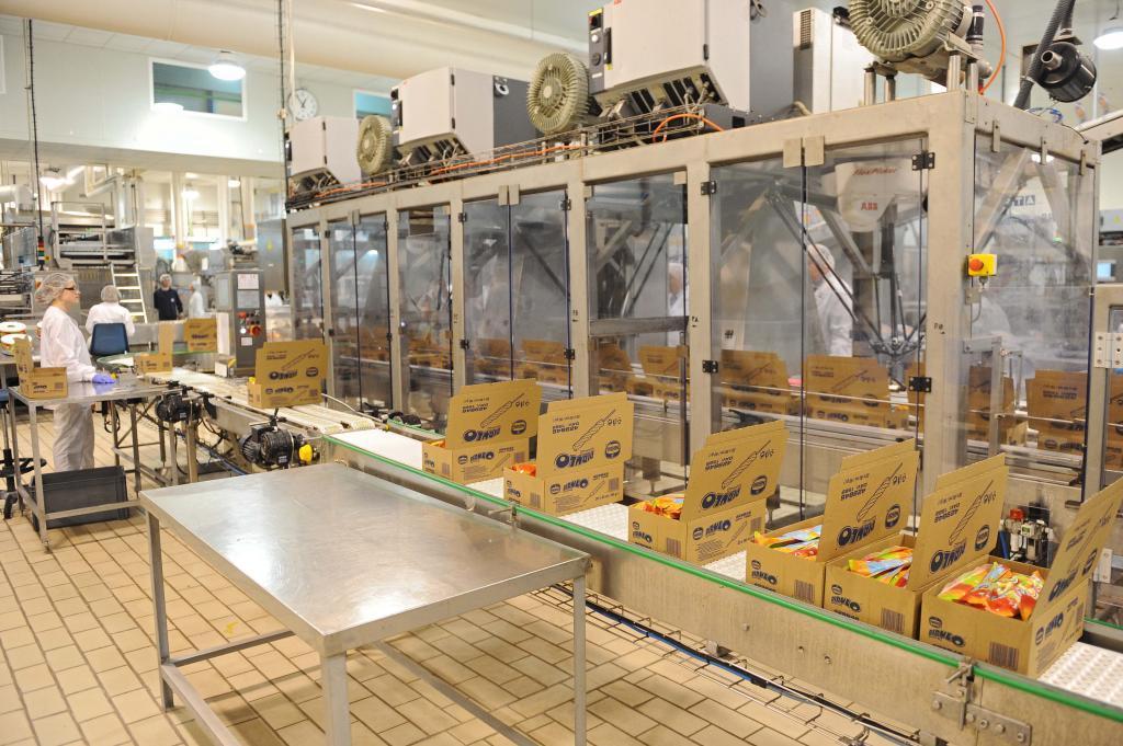 Fábrica de Nestlé en Victoria