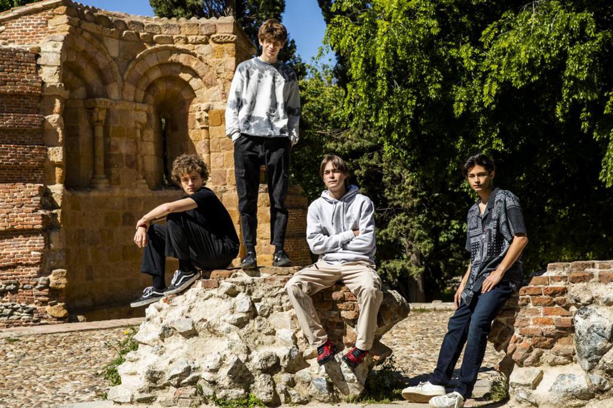 Los cuatro protagonistas de 'Paraíso'