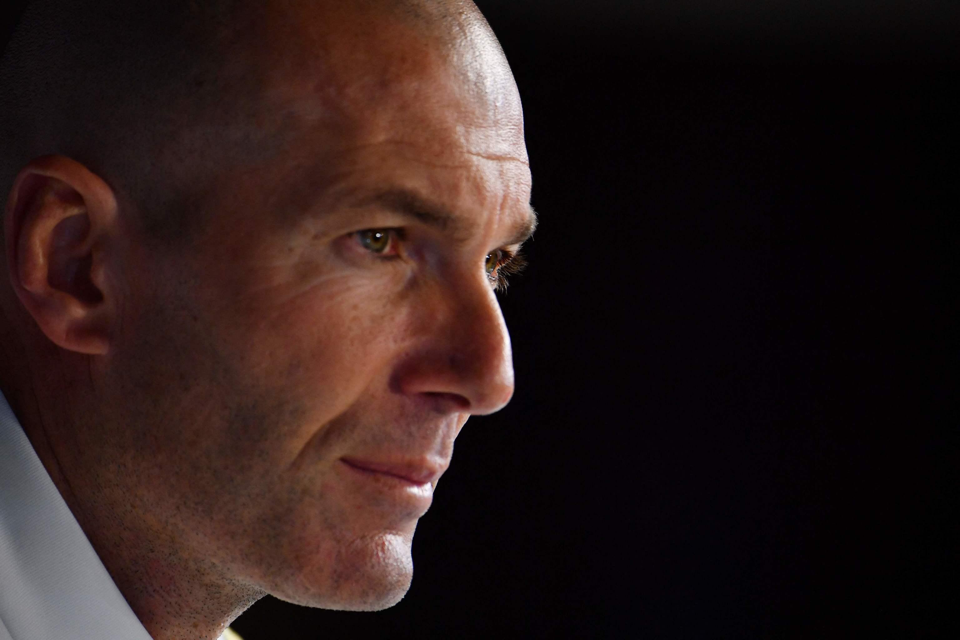 Zidane y las dichosas filtraciones a la prensa