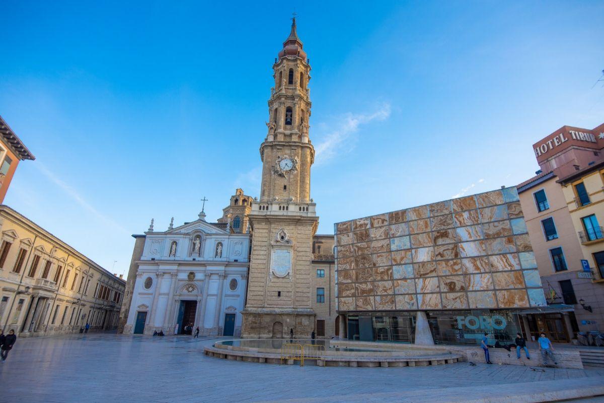 La Seo de Zaragoza.