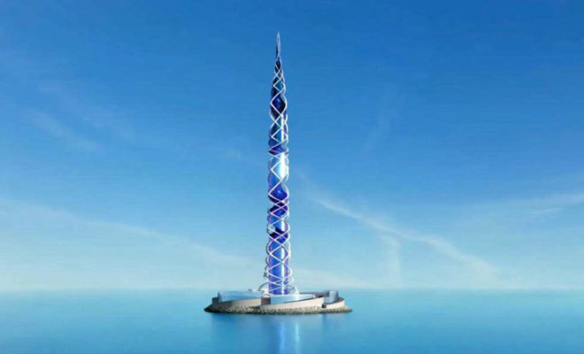 La construcción rusa medirá 703 metros de altura.