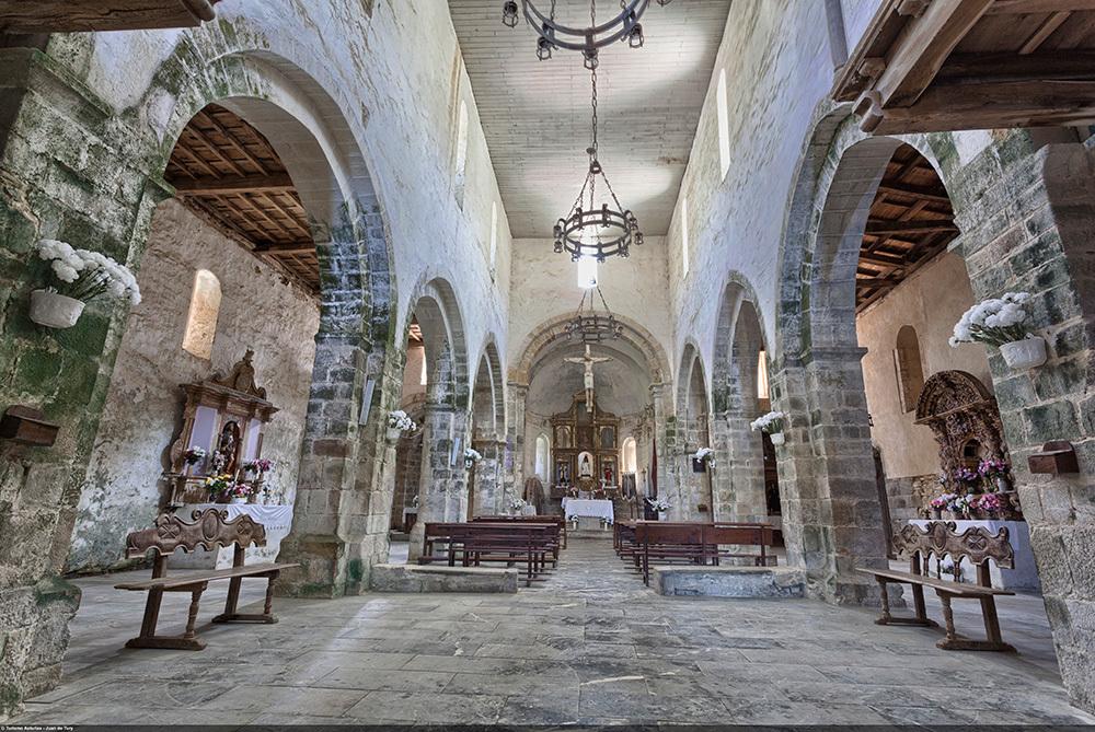 Interior Monasterio de Santa María La Real - Oubona