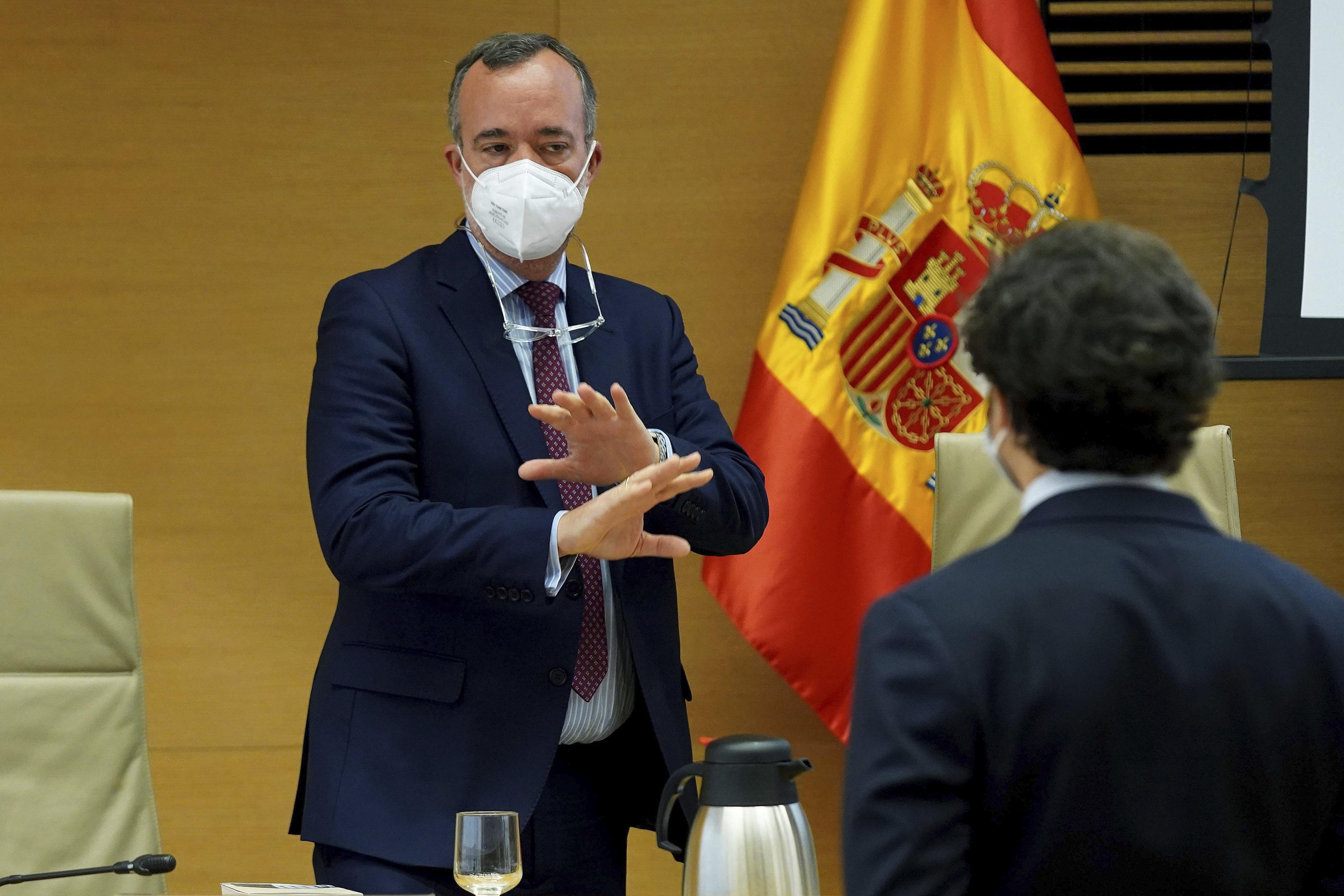Francisco Martínez, ex secretario de Estado de Seguridad, en la comisión 'Kitchen'